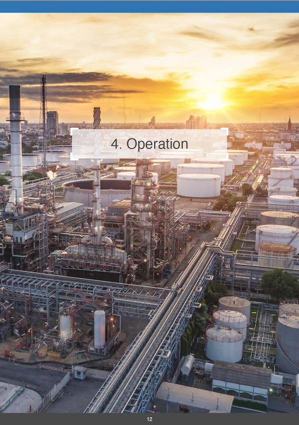 Drones in the Energy Industry - Operation