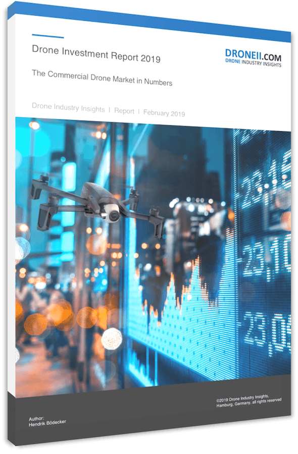 Drone Investment Report 2019 - Title 3D Shadow