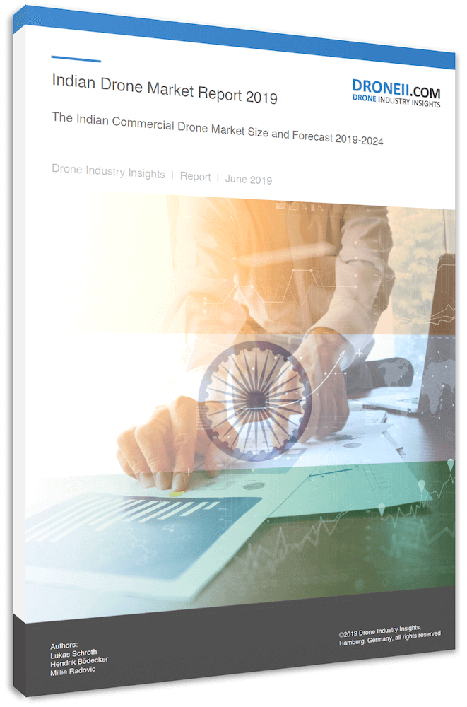 Indian Drone Market - 3D Shadow Cover Page