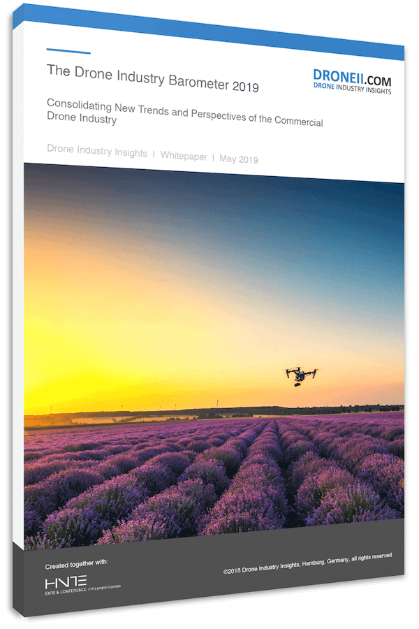 The European Drone Industry Title 3d Shadow