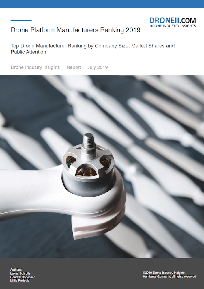Drone Manufacturer Ranking Report Cover 2D
