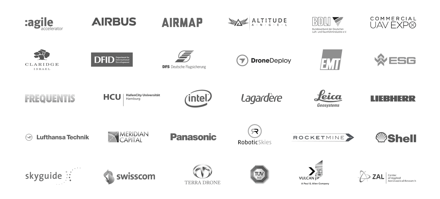 DRONEII Trusted by Logos
