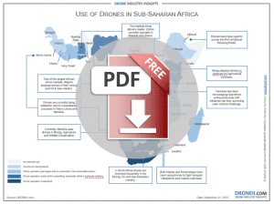 Drones in Africa Sub-Sahara - Download Icon