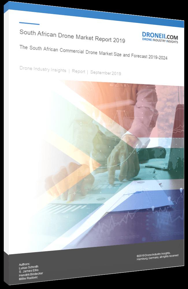 SA Drone Market Report Title Page Portrait 3D Shadow