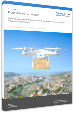 Drone Delivery Report Title 3D Shadow