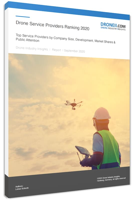 Drone Service Providers Ranking 2020 3Ds