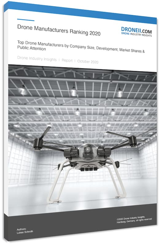Drone Manufacturers Ranking 2020 Title 3Ds
